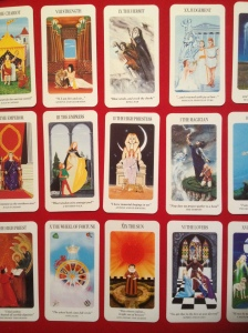 A Shakespearian Tarot Deck. There are many designs of Tarot.
